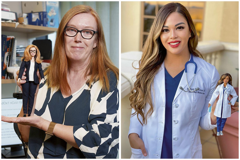 MODELOS- A britânica Sarah Gilbert (à esq.) e a americana Audrey Sue Cruz: exemplos de cientistas que merecem ser acompanhadas -