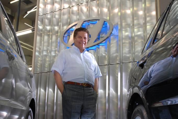 Carlos Alberto de Oliveira Andrade, presidente do Grupo Caoa.