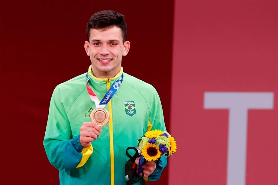Daniel Cargnin, do Brasil, ganha o bronze no judô -
