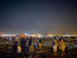 Aeroporto de Cabul, no Afeganistão: civis tentam desesperadamente deixar o país