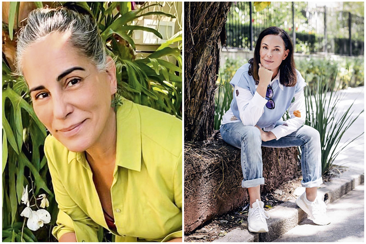 BRIGA NACIONAL - Gloria Pires e Carolina Ferraz (à dir.): busca por remuneração de reprises no streaming -