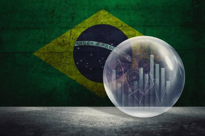 Brazil financial bubble