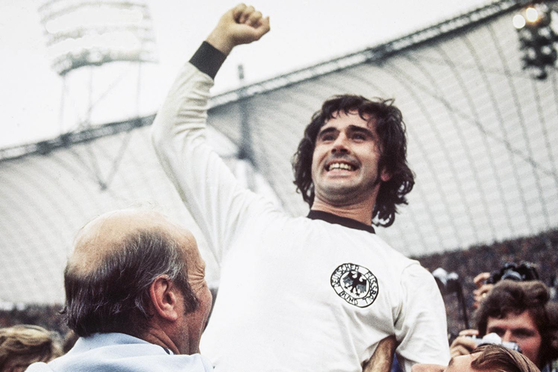 ARTILHEIRO - Müller: até 2006, o maior goleador da história das Copas -