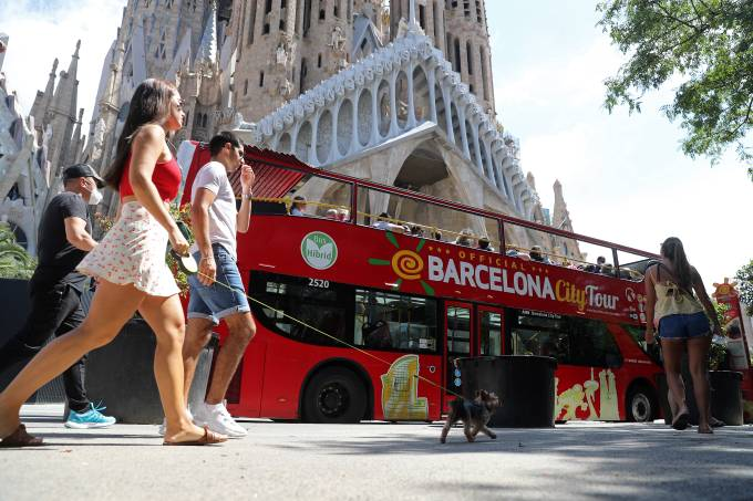 Impact Of The Tourist Crisis On The Sagrada Familia