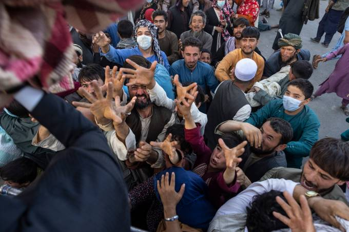 Displaced Afghans Flee To Kabul As Taliban Make Gains In Northern Provinces