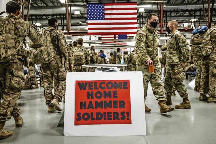 FIM DA LINHA -Tropas americanas voltam para casa: missão incompleta -