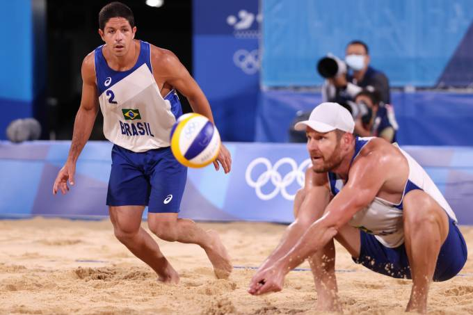 Beach Volleyball – Olympics: Day 10