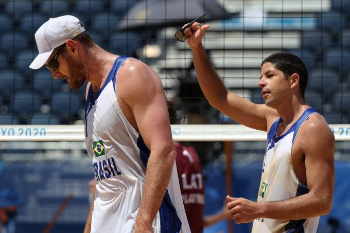 Beach Volleyball – Olympics: Day 12