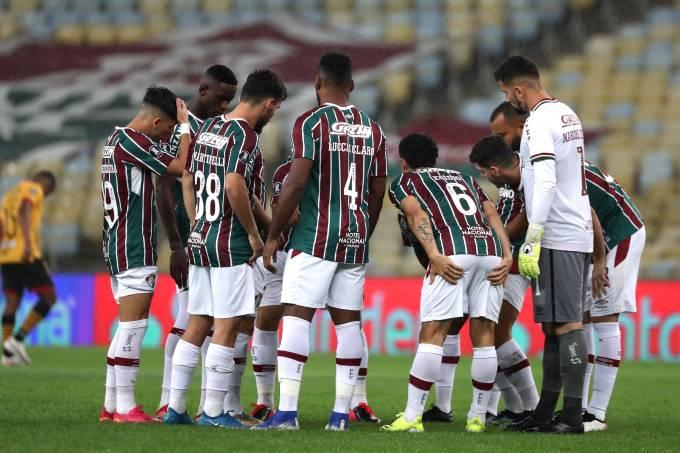 Fluminense v Barcelona SC – Copa CONMEBOL Libertadores 2021