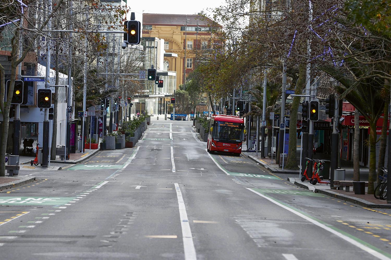 RIGOR -Mesmo com poucos casos, Auckland, na Nova Zelândia, fechou: a postura do governo impediu a explosão de casos -