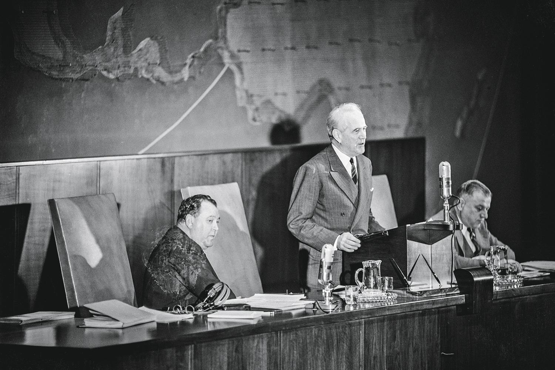 HISTÓRICO- Oswaldo Aranha: o brasileiro preside a Assembleia-Geral da ONU que definiu a partilha da Palestina em 1947 -