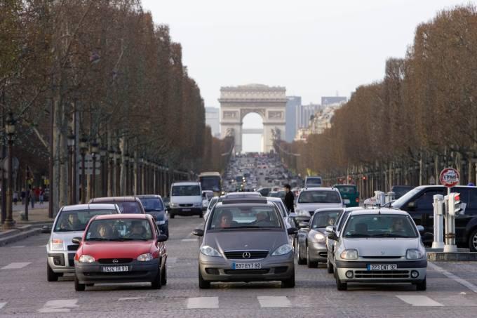 Champs-+lyses, Paris, France