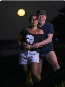 Lula e Janja, sua namorada