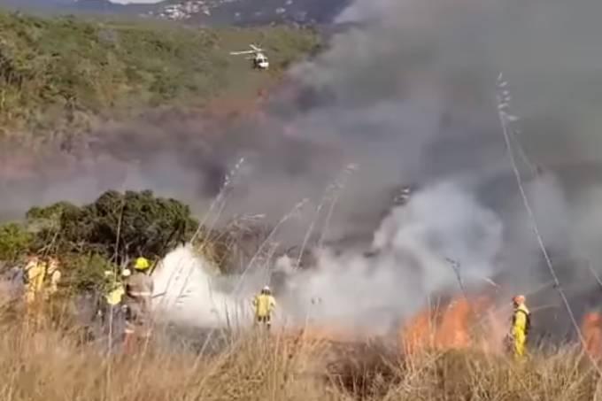 Incêndio Parque do Juquery