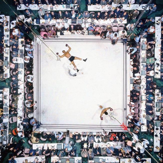 Muhammad Ali contra Cleveland Williams, em 1966
