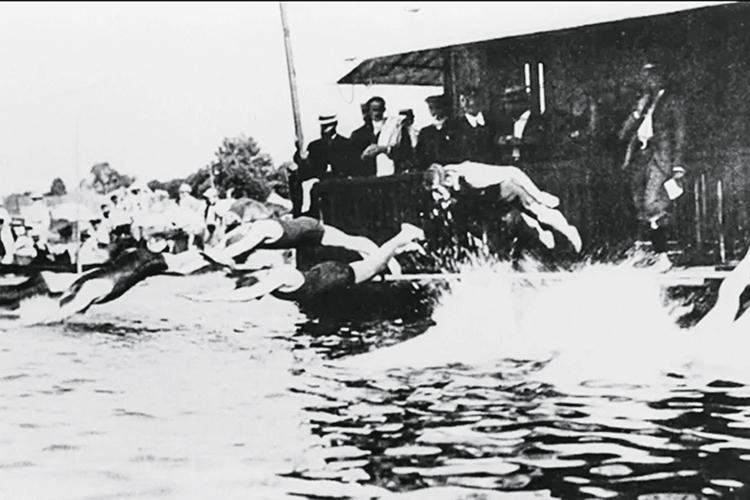 JOGOS DE 1900 -Natação no Sena: como no passado, o rio terá competições -