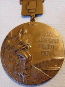 Medalha de Servílio Oliveira nos Jogos do México