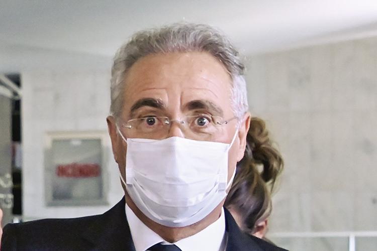 SURPRESA -Calheiros: o senador diz desconhecer o motivo da investigação -