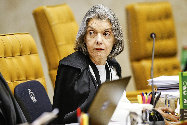 DISCRIMINAÇÃO -Cármen Lúcia: uma das que evitam hoje críticas públicas a Moraes -