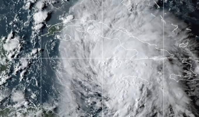 Tempestade tropical Ida atinge o Cuba e o Caribe nesta sexta-feira (27)