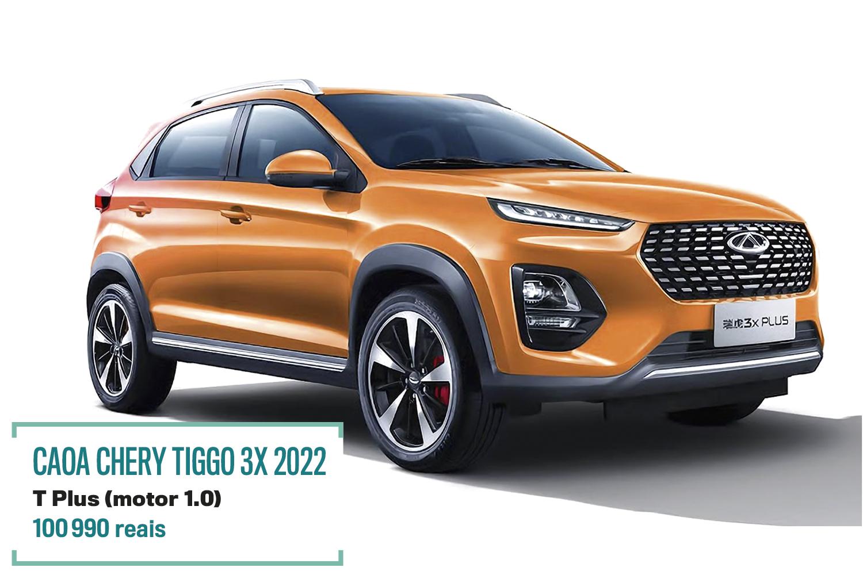 CAOA CHERY TIGGO 3X 2022 -