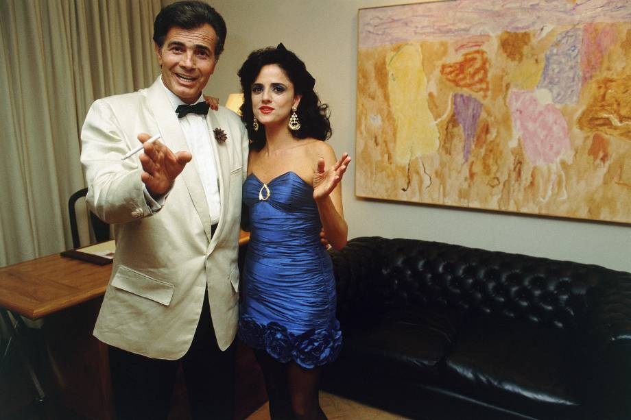 """Com Marieta Severo no seriado """"Tarcísio e Gloria"""", exibido em 2012 -"""