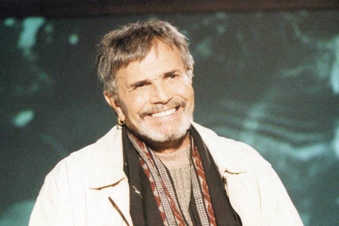 """Tarcísio Meira na novela """"Um Anjo Caiu do Céu"""", da Rede Globo."""