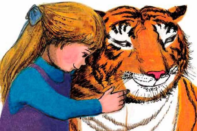 Trecho do livro 'O Tigre Que Veio para o Chá da Tarde', de Judith Kerr –
