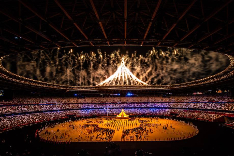 Cerimônia de abertura dos Jogos Olímpicos