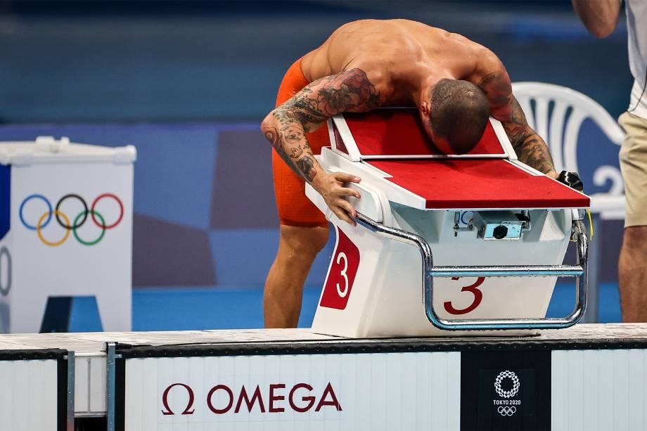 Bruno Fratus na final dos 50m livre -