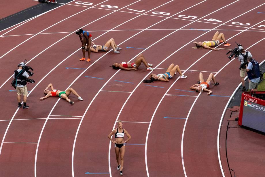 Final dos 800m feminino -