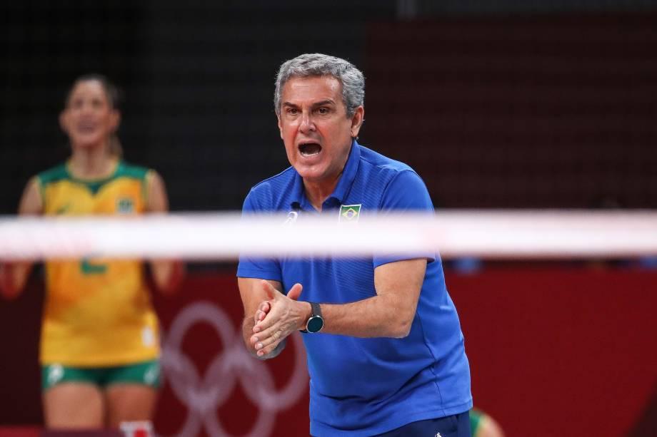 O técnico da seleção brasileira, Zé Roberto -