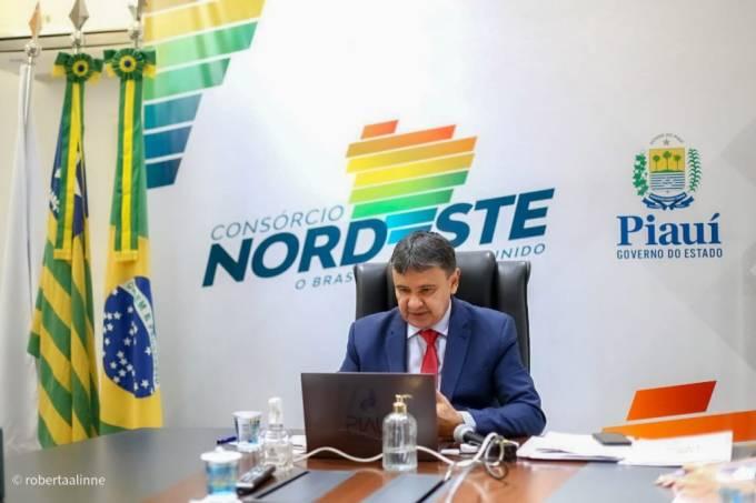 O Consórcio Nordeste é presidido pelo governador do Piauí, Wellington Dias (em foto de 30 de julho)