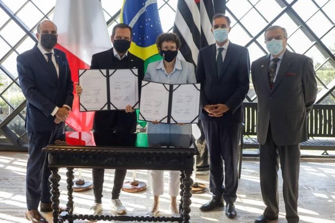 Doria anuncia parceria com governo Macron na área ambiental