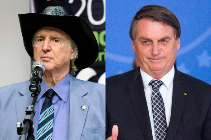 Sérgio Reis e Bolsonaro