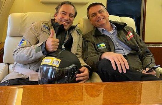 Bolsonaro e Pedro Guimarães