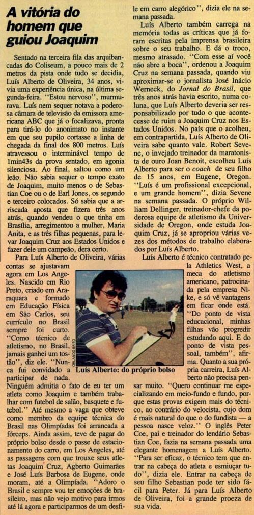 Edição sobre Joaquim Cruz