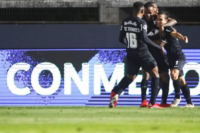 Red Bull Bragantino comemora classificação na Copa Sul-Americana