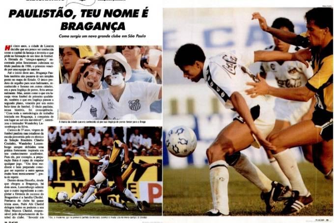 Bragantino foi destaque na edição dos campeões de 1990