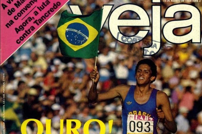 Capa exaltou a campanha brasileira em Los Angeles
