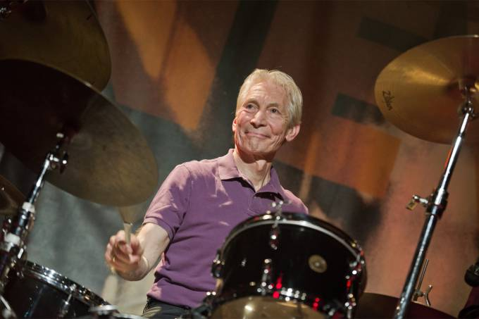 Charlie Watts Performs At Le New Morning