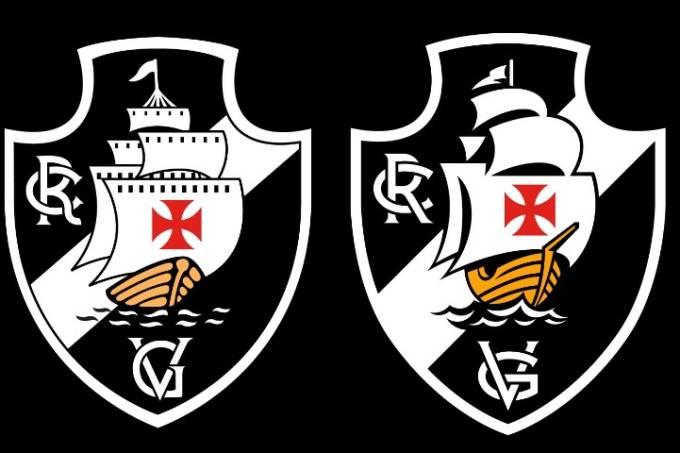 Escudo do Vasco da Gama traz ligeiras alterações