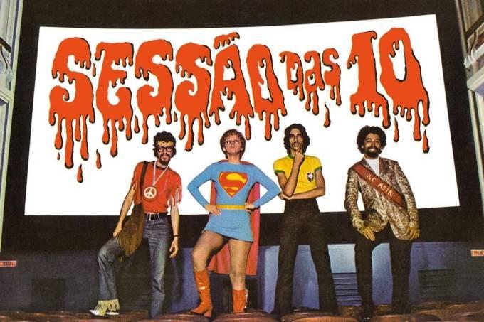 'Sociedade da Grã-Ordem Kavernista apresenta: sessão das 10', disco de Raul Seixas lançado em 1971