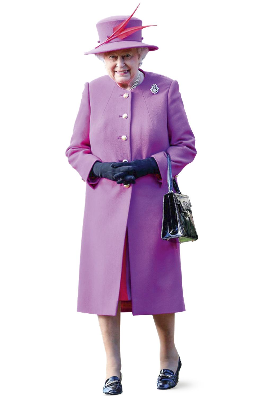 FIGURINO REAL - Elizabeth II e seus looks: alegria para os súditos -