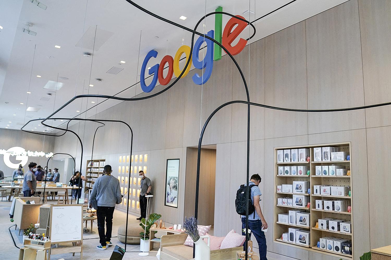 IMERSÃO -Mundo Google: o gigante das buscas na internet inaugurou sua primeira loja no bairro de Chelsea, em Nova York -