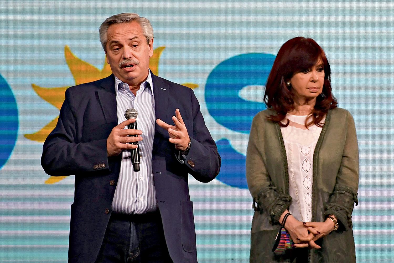 DE MAL -Fernández e Kirchner após as primárias: a vice culpa o chefe -