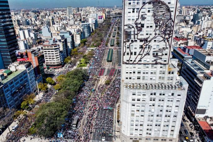 ARGENTINA-POLITICS-PROTEST