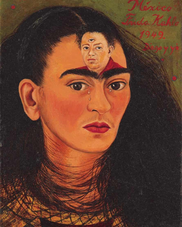 Quadro 'Diogo y Yo', de Frida Kahlo -
