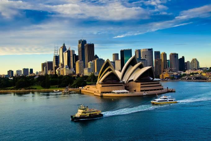 Sidney, na Austrália: país é forte produtor de carvão