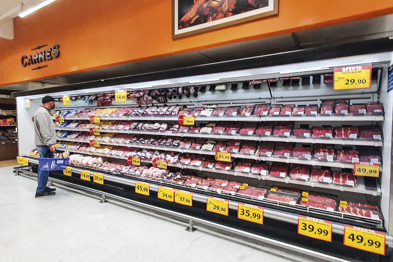 REALIDADE -Supermercados: inflação dos alimentos tende a provocar danos na imagem do presidente -